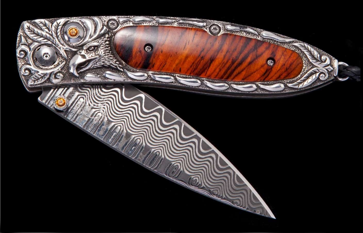 Monarch Sovereign Luxury Pocket Knife - William Henry Knives