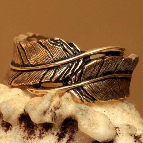 Wild Alaska Gold Nugget River Ring