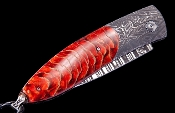 Monarch Crimson Ridge Luxury Pocket Knife - William Henry Knives - Gold Rush Fine Jewelry