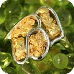 Alaskan Gold Nugget Jewelry by Alaskan Gold Rush Fine Jewelry