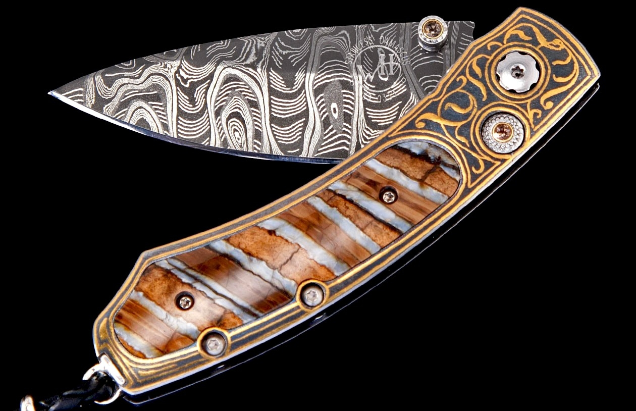 Kestrel Destiny Luxury Pocket Knife - William Henry Knives