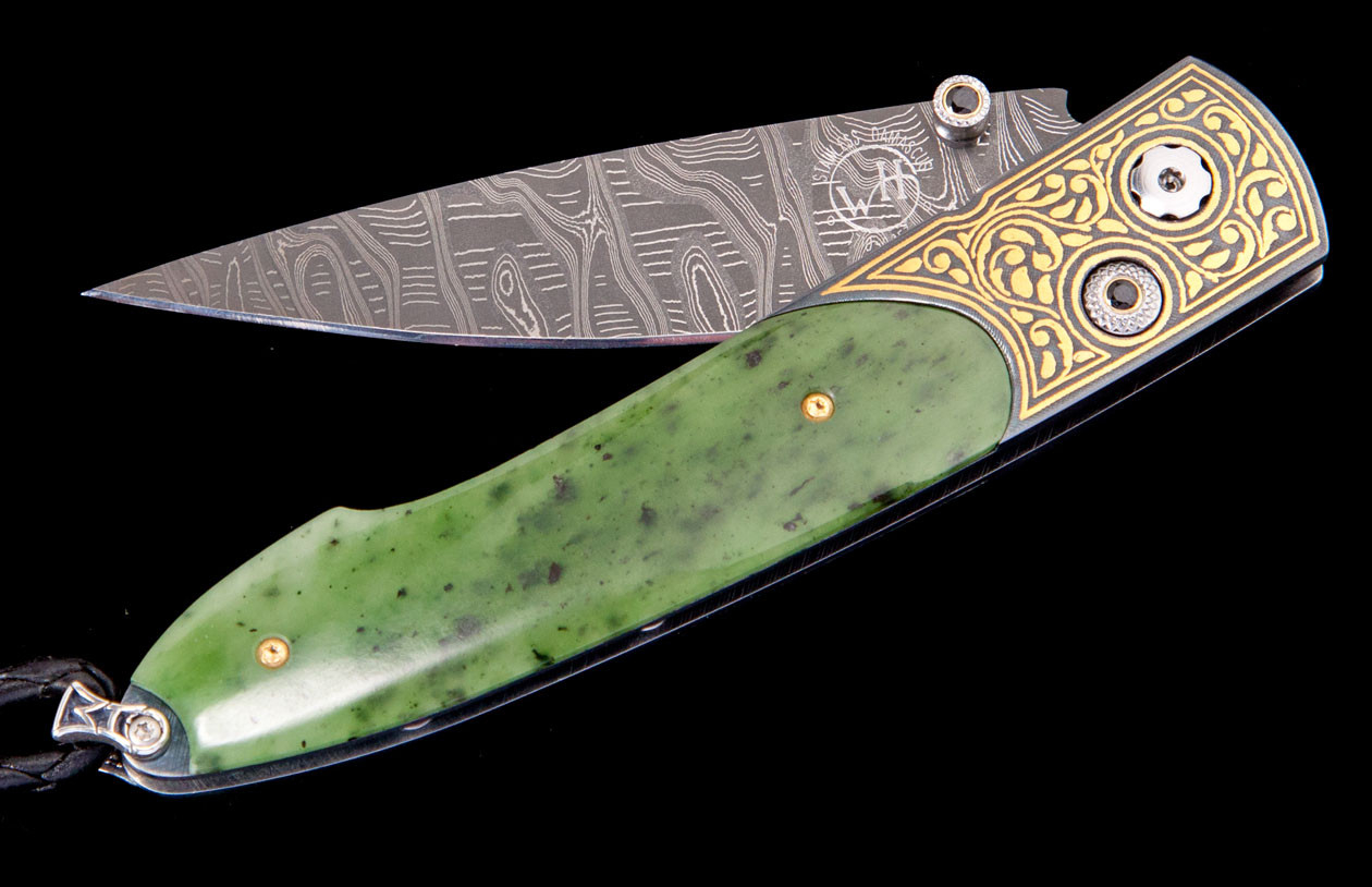 Lancet Bangkok Luxury Pocket Knife - William Henry Knives - Gold Rush Fine Jewelry - Fairbanks Alaska