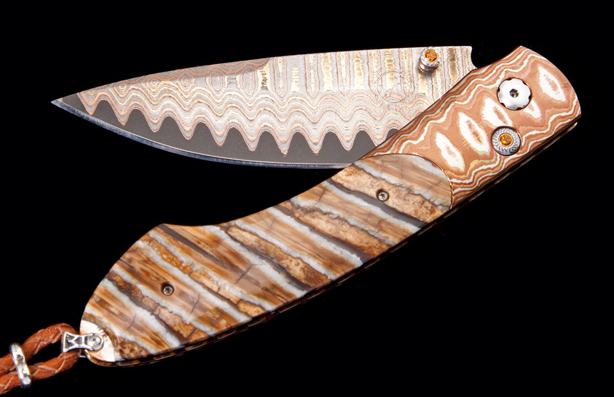 Spearpoint Amber Butte Luxury Pocket Knife - William Henry Knives