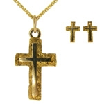Alaskan Gold Nugget Religious Jewelry